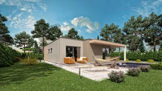 Projekt bungalov LADY 4