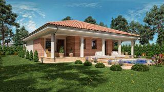 Projekt bungalov s terasou EMMA 1