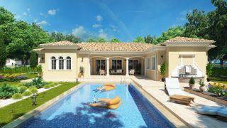Projekt luxusného bungalovu CASA CASTILIA