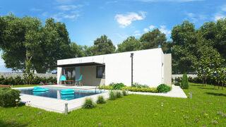 Stavba domu na kľúč - bungalov SARAH 1 s terasou